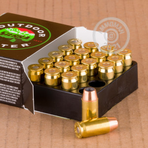 Image of .45 Automatic ammo by Sierra Bullets that's ideal for home protection.