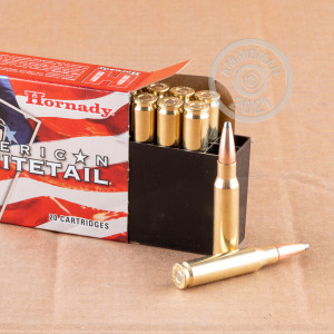 A photograph of 200 rounds of 150 grain 308 / 7.62x51 ammo with a soft point bullet for sale.