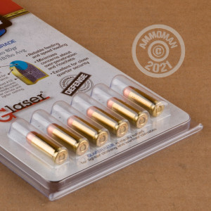 Image of bulk 38 Super ammo by Glaser Safety Slug that's ideal for home protection.