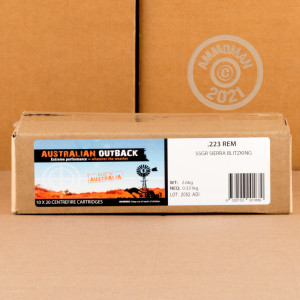 Photo of 223 Remington Polymer Tipped ammo by Australian Outback for sale.
