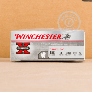 Photograph of Winchester 12 Gauge #5 shot for sale at AmmoMan.com