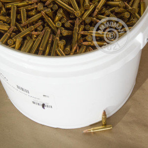 Image of the .223 REMINGTON HORNADY BULK PACK 55 GRAIN SP (500 ROUNDS) available at AmmoMan.com.