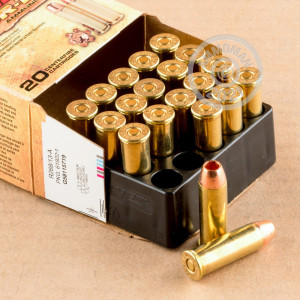 Photo of 44 Remington Magnum JHP ammo by Barnes for sale at AmmoMan.com.