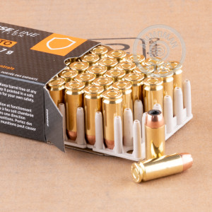 Photo of 10mm JHP ammo by Prvi Partizan for sale at AmmoMan.com.