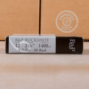Great ammo for home protection, whitetail hunting, hunting or home defense, these Baschieri & Pellagri rounds are for sale now at AmmoMan.com.