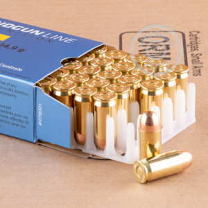 A photo of a box of Prvi Partizan ammo in .45 Automatic.