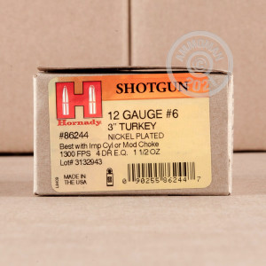 Great ammo for hunting turkey, these Hornady rounds are for sale now at AmmoMan.com.
