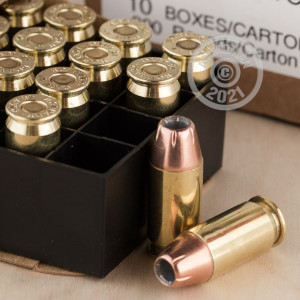 Image of .45 Automatic ammo by Hornady that's ideal for home protection.