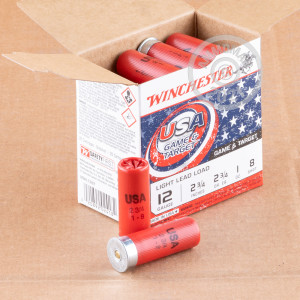 Great ammo for target shooting, upland bird hunting, these Winchester rounds are for sale now at AmmoMan.com.