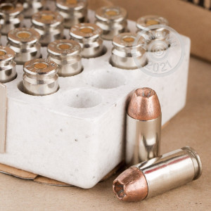 Image of .40 Smith & Wesson ammo by Winchester that's ideal for home protection.
