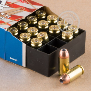 Photo of .40 Smith & Wesson XTP ammo by Hornady for sale at AmmoMan.com.