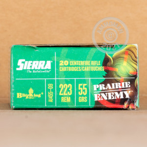 Photo of 223 Remington Polymer Tipped ammo by Sierra Bullets for sale.
