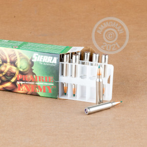 An image of 223 Remington ammo made by Sierra Bullets at AmmoMan.com.