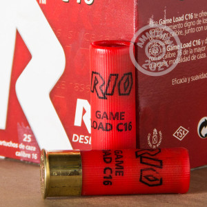 Photograph of Rio Ammunition 16 Gauge #8 shot for sale at AmmoMan.com