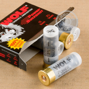 Great ammo for hunting or home defense, these Wolf rounds are for sale now at AmmoMan.com.