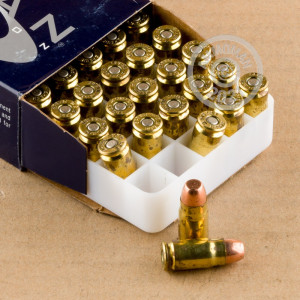 A photo of a box of Speer ammo in 357 SIG.