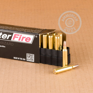 Image of 223 Remington ammo by SinterFire that's ideal for precision shooting, shooting indoors, training at the range.