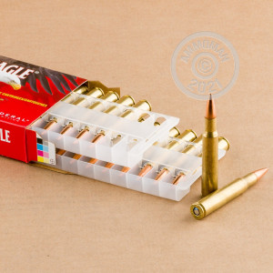 Image of 30.06 Springfield ammo by Federal that's ideal for training at the range.