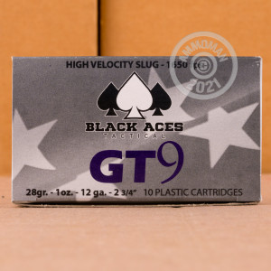 Great ammo for hunting, these Black Aces Tactical rounds are for sale now at AmmoMan.com.