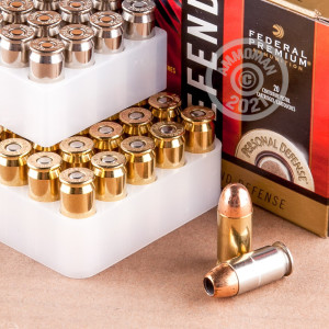 Image detailing the Not Applicable case and boxer primers on 120 rounds of Federal ammunition.