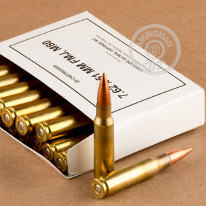 Photo of 308 / 7.62x51 FMJ ammo by Armscor for sale.