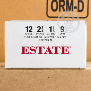 Picture of  12 Gauge ammo made by Estate Cartridge in-stock now at AmmoMan.com.