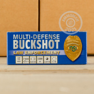 #1 BUCK shotgun rounds for sale at AmmoMan.com - 10 rounds.