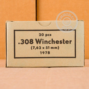 A photo of a box of Sellier & Bellot ammo in 308 / 7.62x51.