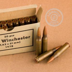 Photo of 308 / 7.62x51 FMJ ammo by Sellier & Bellot for sale.