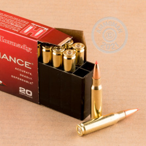A photograph of 20 rounds of 150 grain 308 / 7.62x51 ammo with a SST bullet for sale.