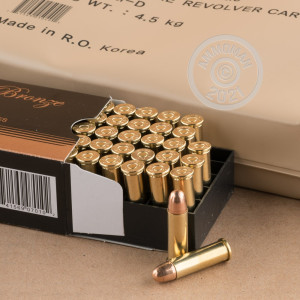 Photo of 38 Special FMJ ammo by PMC for sale.