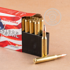 Photo of 270 Winchester soft point ammo by Hornady for sale.