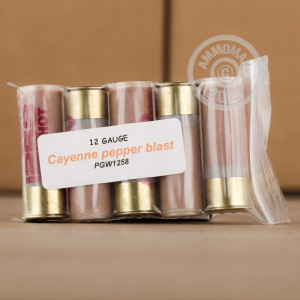 Great ammo for home protection, less lethal purposes, these Precision Gun Works rounds are for sale now at AmmoMan.com.
