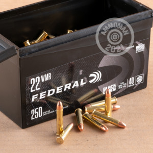 .22 WMR ammo for sale at AmmoMan.com - 250 rounds.