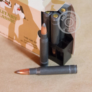 An image of 30.06 Springfield ammo made by Wolf at AmmoMan.com.