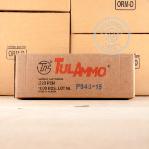 Image of the 223 REM TULA 55 GRAIN HP (40 ROUNDS) available at AmmoMan.com.