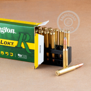 A photo of a box of Remington ammo in 30.06 Springfield.