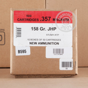 An image of 357 Magnum ammo made by Black Hills Ammunition at AmmoMan.com.