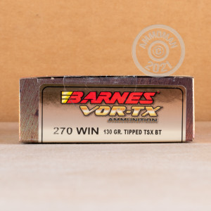 Image of 270 Winchester rifle ammunition at AmmoMan.com.