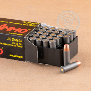 Image of 38 Special ammo by Tula Cartridge Works that's ideal for training at the range.
