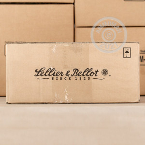 Image of .45 Automatic ammo by Sellier & Bellot that's ideal for precision shooting, shooting indoors, training at the range.