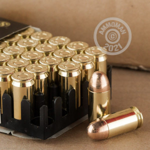 An image of .45 Automatic ammo made by Sellier & Bellot at AmmoMan.com.