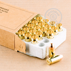 Image detailing the  case and boxer primers on the Winchester ammunition.