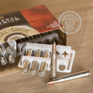 Photograph showing detail of 300 H&H FEDERAL VITAL-SHOK 180 GRAIN JHP (20 ROUNDS)