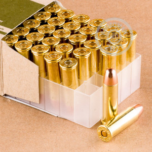 Photo of 38 Special FMJ ammo by Fiocchi for sale at AmmoMan.com.