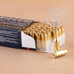 A photo of a box of Fiocchi ammo in .32 ACP.