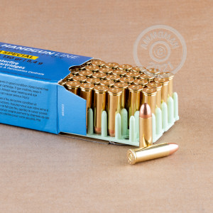 A photo of a box of Prvi Partizan ammo in 38 Special.