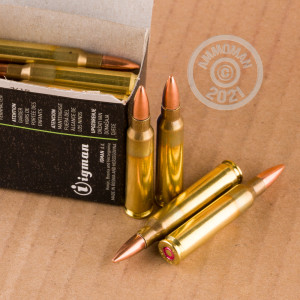 A photo of a box of Igman Ammunition ammo in 223 Remington.