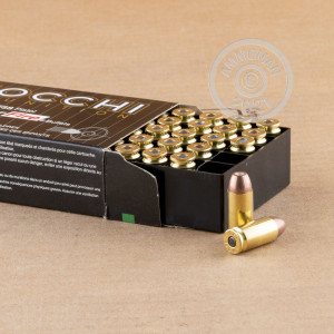 Photo of .40 Smith & Wesson frangible ammo by Fiocchi for sale at AmmoMan.com.