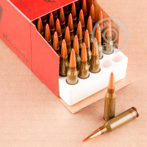 Image of Hornady 5.45 x 39 Russian rifle ammunition.